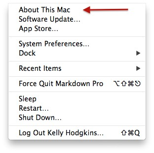 Mac 101 Finding your Mac's UDID