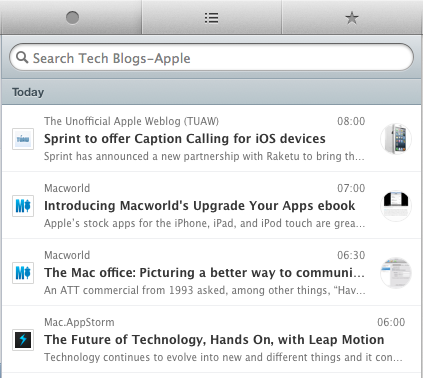 Mac App of the Week Caffeinated is a polished RSS reader for desktop users