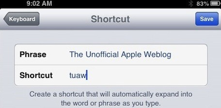 Automate text entry in iOS